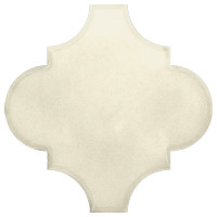 Mexican White Arabesque Lantern Tile