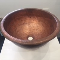 Large Columbo Copper Vessel