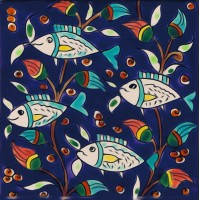 Fish Dark Blue