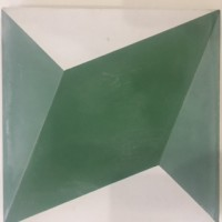 Geo Sculpture Encaustic Tile