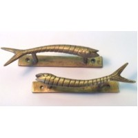 Brass Fish Handle