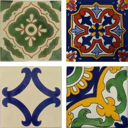 Our Handmade Classic Design Tiles Are Spanish Mediterranean Mexican In Heritage