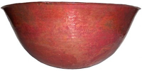 Large Gabriel Copper Vessel