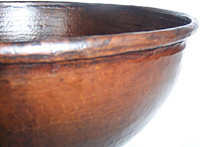 Large Augustine Copper Vessel