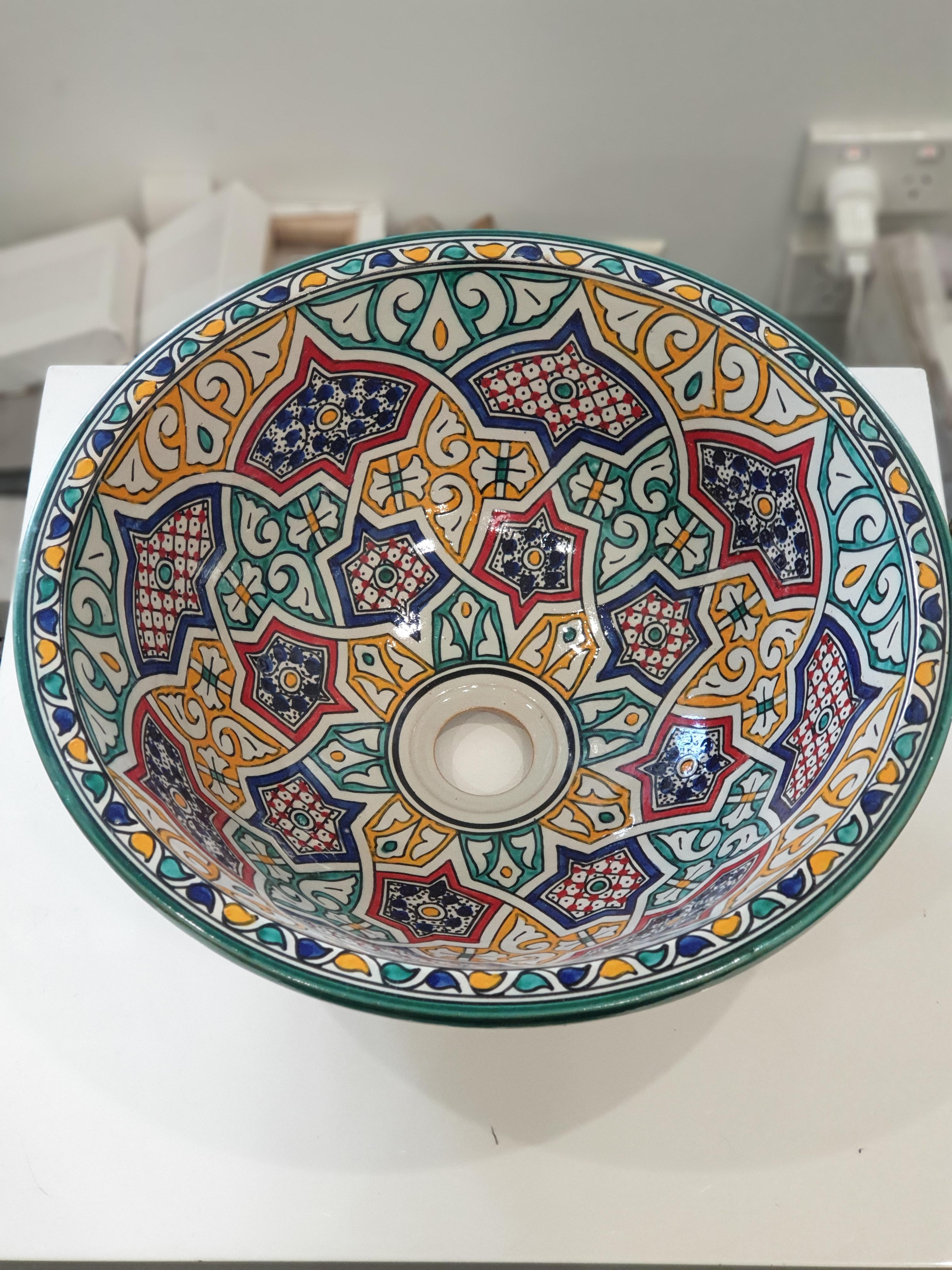Moroccan Sink 4 (Recessed)