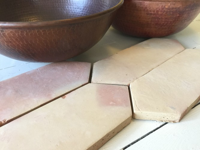 Saltillo Clay Floor Tiles Handmade Clay Tiles Old World Tiles