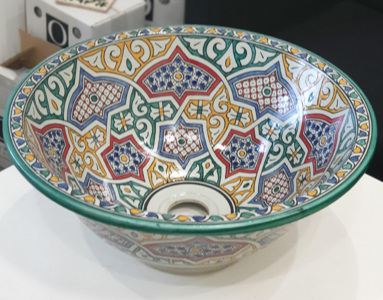 Moroccan Sink 4 (Above or Below Counter)
